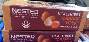 Organic Brown Eggs pack of 10