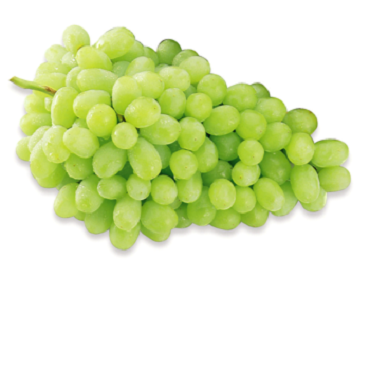Organic Angoor Hara Grapes Green  500gms